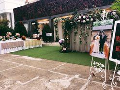 Tiệc cưới trọn gói theo xu hướng Vintage tông màu nâu trầm ấm - Trung tâm Hội Nghị - Tiệc Cưới Hoàng Long