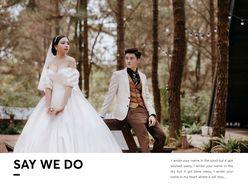 Album ảnh cưới Hotgirl Vũ Giáng Ly - Chầm chậm thích anh - TuArt Wedding Đà Lạt