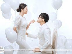 Album ảnh cưới concept bóng bay - Mimosa Wedding