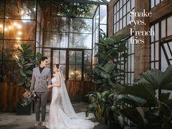 Ảnh Cưới Phim Trường - Sài Gòn Đêm - Trương Tịnh Wedding