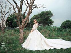 Cho thuê váy cưới dòng hàng xa xỉ couture WA71003S06 - Caroll Trần Design