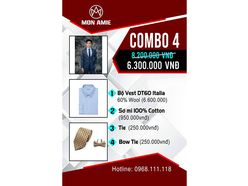 Bộ Vest D&T Italia cao cấp - MON AMIE: Veston - Suit - Tuxedo