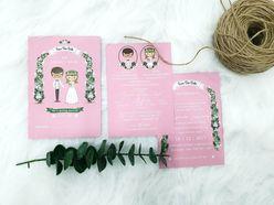 Chibi Wedding - Thiệp cưới nhà Pen