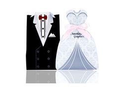 Hộp quà cưới - Chocolate Graphics