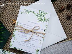 Greenery Style - Thiệp cưới Chất