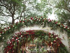 Trang trí đám cưới trong vườn cô dâu - chú rể Phương - Việt - Sheraton Hanoi Hotel