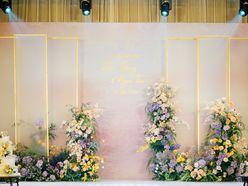 Trang trí Lễ thành hôn cô dâu - chú rể Tân - Hồng - Sheraton Hanoi Hotel