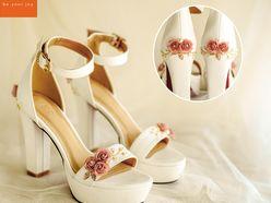 Giày cưới 12cm  - Giày cưới / Giày Cô Dâu BEJO BRIDAL
