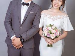 CHỤP ẢNH CƯỚI PREWEDDING TRONG STUDIO - Váy cưới Nicole Bridal