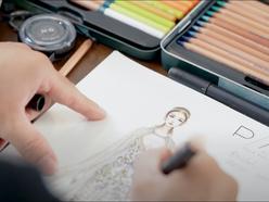 How to make a Wedding Dress Video - The M.O.B Media - Phóng sự cưới