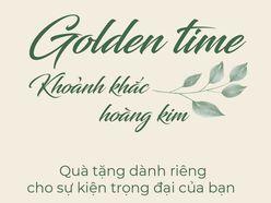 GÓI TRANG TRÍ CƯỚI GOLDEN TIME - TRUNG TÂM SỰ KIỆN WHITE PALACE