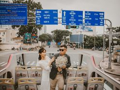 Ngoại Cảnh Sài Gòn 8.000.000Đ - Annie Vy Wedding Studio