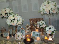 Bàn gallery - Midori Shop - Phụ kiện trang trí ngành cưới
