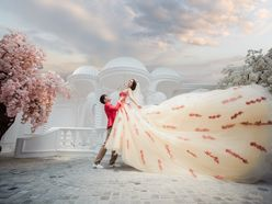 Ảnh cưới Phim Trường Jeju - Áo cưới Lucky Anh&Em
