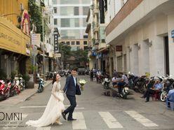 """Album cưới """"Sài Gòn- Nơi tình yêu bắt đầu"""" - Omni Bridal"""