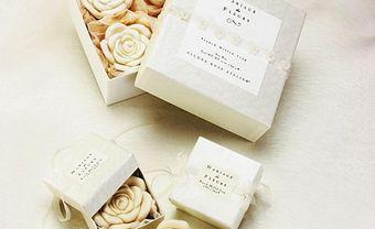 Quà cảm ơn khách mời: Xà bông handmade hình hoa hồng - Blog Marry