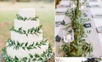 Theme cưới đẹp kết lá xanh cho tiệc cưới mùa Đông thêm sức sống - Blog Marry