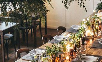 Theme cưới đẹp mộc mạc với màu xanh olive hút mắt - Blog Marry