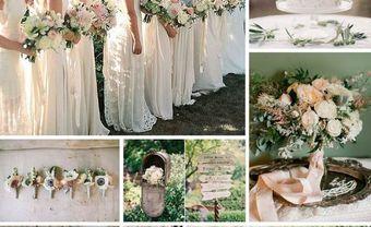 Theme cưới đẹp tông xanh lá tươi mát cho mùa Xuân đầy sức sống - Blog Marry