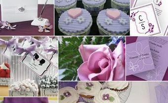 Theme cưới đẹp mang tông tím pastel lãng mạn, trẻ trung cho cặp đôi hiện đại - Blog Marry