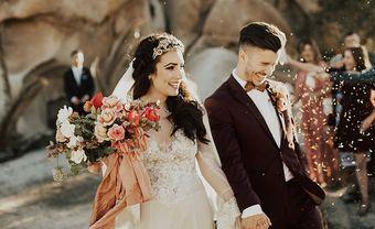 Hoa cưới hoa hồng Tây cho hôn lễ đẹp như cổ tích - Blog Marry