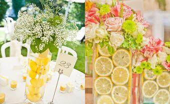 Theme cưới đẹp - rực rỡ sắc màu trái cây nhiệt đới - Blog Marry