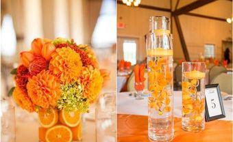 Theme cưới đẹp - Tràn ngập niềm vui cùng tông cam ngọt - Blog Marry