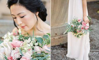 Trang trí tiệc cưới tao nhã với theme màu hồng phấn - Blog Marry