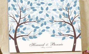 Tranh ký tên: Điểm nhấn đáng yêu cho đám cưới - Blog Marry