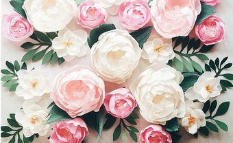 Cách làm hoa giấy đơn giản sống động như thật cho đám cưới - Blog Marry