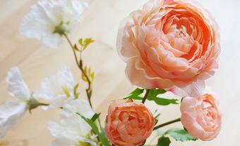 Hướng dẫn làm backdrop hoa giấy với hoa mao lương quyến rũ - Blog Marry