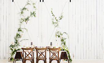 Xu hướng chọn background đám cưới theo phong cách tối giản - Blog Marry