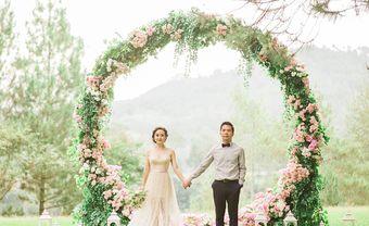 Những cổng hoa đám cưới đẹp nhìn là muốn cưới ngay - Blog Marry