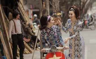 Rủ nhau du Xuân với tà áo dài Cô Ba Sài Gòn thanh lịch, nền nã - Blog Marry