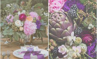 Đám cưới nhuộm sắc tím huyền bí lấy cảm hứng từ bộ ảnh Mists Of Avalon - Blog Marry