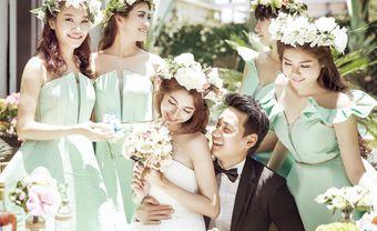 5 xu hướng váy phụ dâu mùa Thu-Đông cho đội hình bưng quả hoàn hảo - Blog Marry