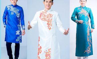 Lịch lãm cùng 5 mẫu áo dài chú rể cách tân hợp xu hướng 2018 - Blog Marry
