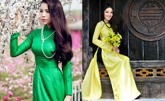 Xu hướng cổ điển lên ngôi, áo dài lụa tơ tằm phủ sóng 2018 - Blog Marry