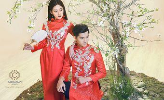 Mùa cưới đậm chất Việt với áo dài uyên ương của Caroll Trần - Blog Marry