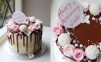12 mẫu bánh kem độc đáo, ý nghĩa dịp kỷ niệm ngày cưới - Blog Marry