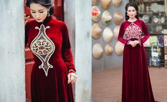 12 mẫu áo dài nhung mà mẹ cô dâu chú rể không thể bỏ qua - Blog Marry