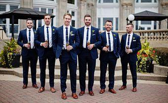 Trẻ trung và thanh lịch với cà vạt bản nhỏ cho mùa cưới 2018 - Blog Marry