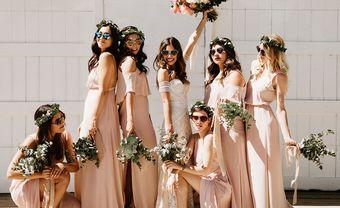 Mê mẩn với 10 bộ váy phù dâu đẹp lung linh cho ngày trọng đại - Blog Marry
