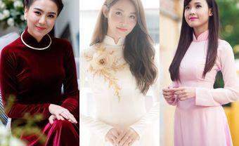 5 kiểu tóc thu hút vạn ánh nhìn cho cô dâu mặc áo dài - Blog Marry