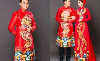 9 mẫu áo dài trẻ trung giúp chú rể tỏa sáng trong hôn lễ - Blog Marry