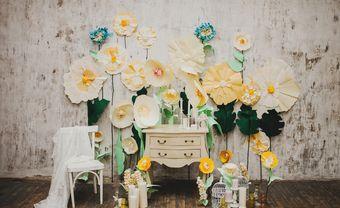 Chọn chất liệu nào cho backdrop handmade ngày cưới? - Blog Marry