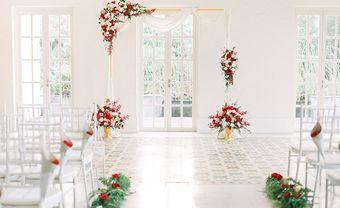 BST cổng đám cưới đẹp phong cách minimalist hiện đại - Blog Marry