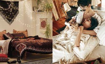 Cách chọn đèn ngủ cho đêm tân hôn thêm lãng mạn - Blog Marry