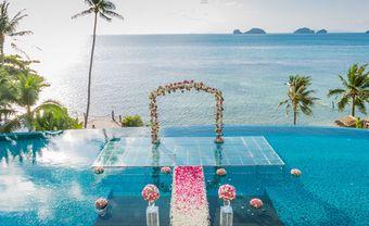 6 kiểu trang trí sân khấu đám cưới ấn tượng mùa Thu-Đông - Blog Marry