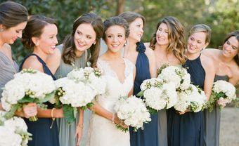 4 điều cần lưu ý khi chọn váy phụ dâu vào mùa lạnh - Blog Marry